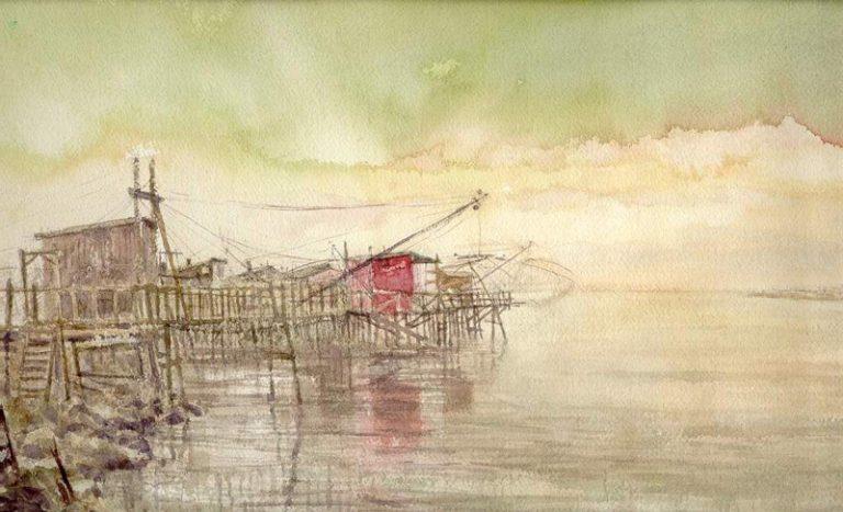 I paesaggi degli acquerelli di Giampiero Pierini, Fiumara grande