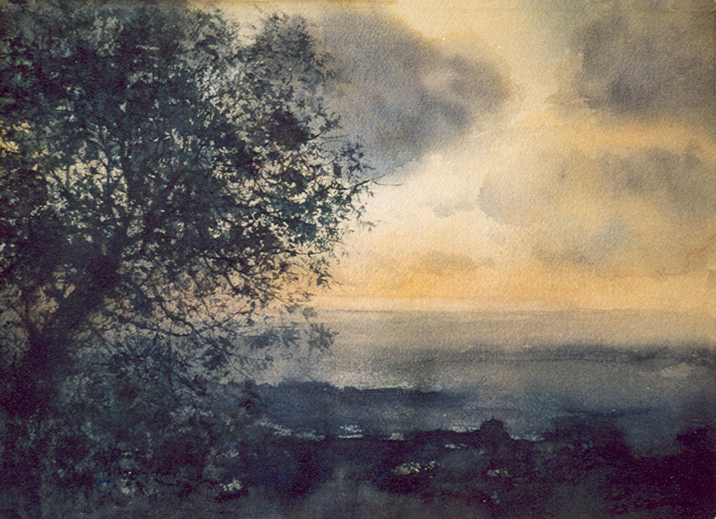 I paesaggi degli acquerelli di Giampiero Pierini, Infinito