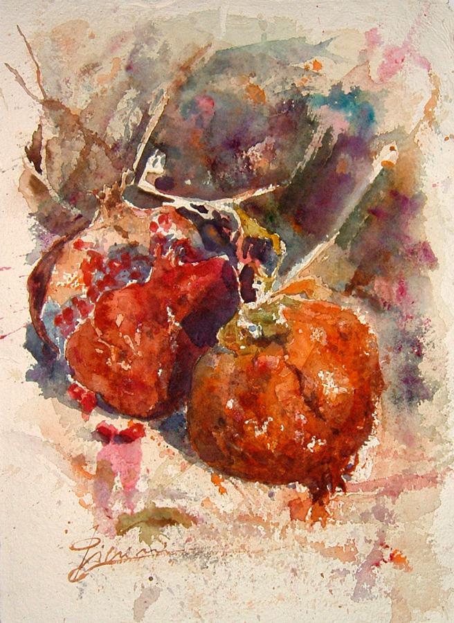 Le composizioni degli acquerelli di Giampiero Pierini, Melegrane