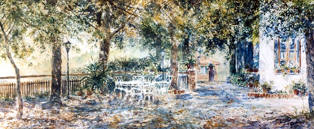 Altre opere e soggetti degli acquerelli di Giampiero Pierini, hotel Belvedere
