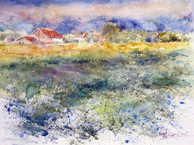 I paesaggi degli acquerelli di Giampiero Pierini, Landschaft
