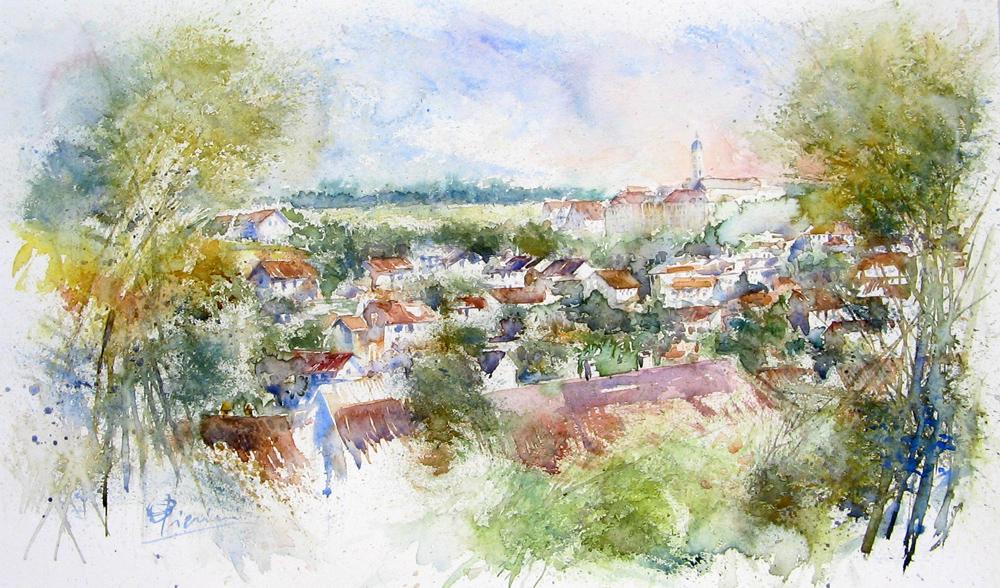I paesaggi degli acquerelli di Giampiero Pierini, Ochsenhausen