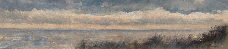 I paesaggi degli acquerelli di Giampiero Pierini, Profilo marino