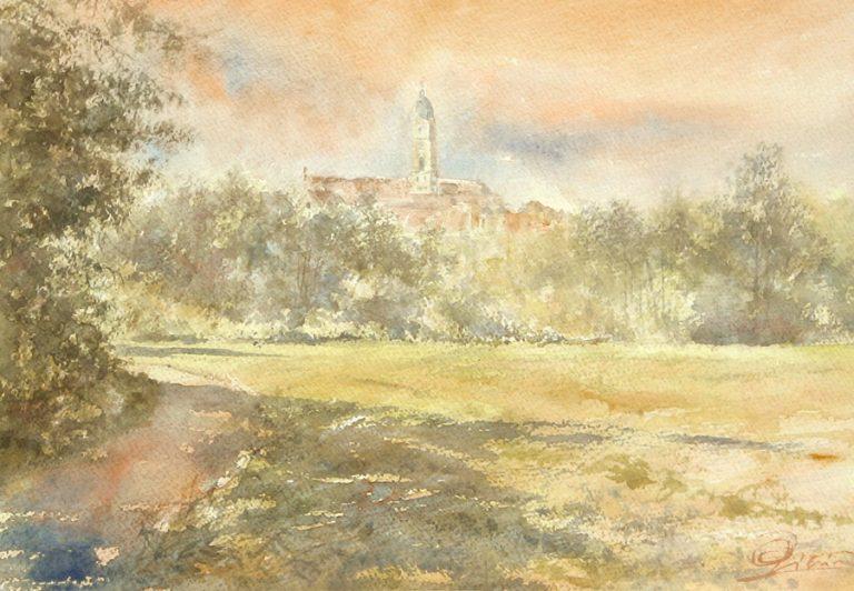 I paesaggi degli acquerelli di Giampiero Pierini, Verso Ochsenhausen