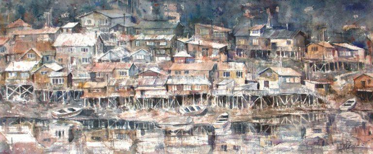 I paesaggi degli acquerelli di Giampiero Pierini, I territori del nord