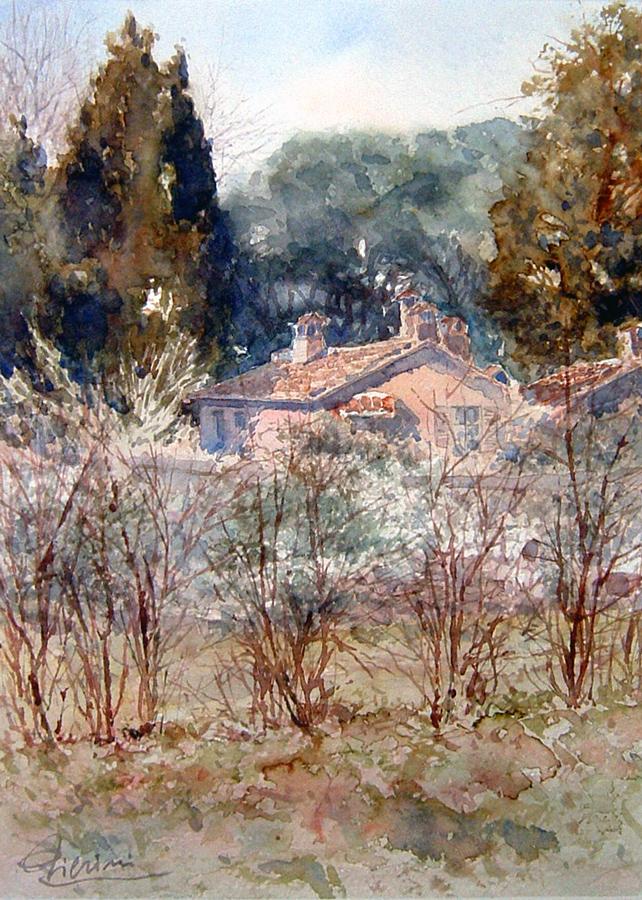 Roma e la campagna romana degli acquerelli di Giampiero Pierini, Quarto Miglio