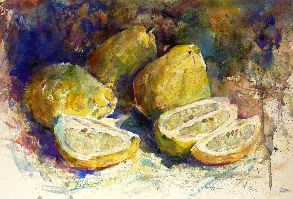 Le composizioni degli acquerelli di Giampiero Pierini, I cedri