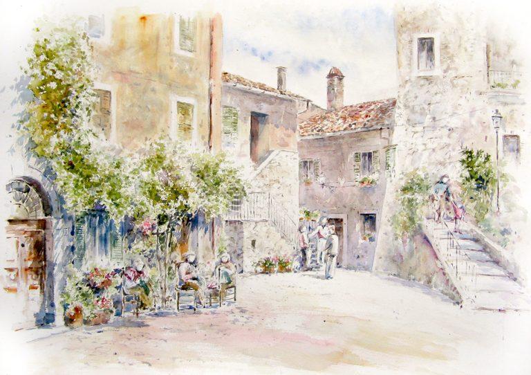 Altre opere e soggetti degli acquerelli di Giampiero Pierini, Oricola